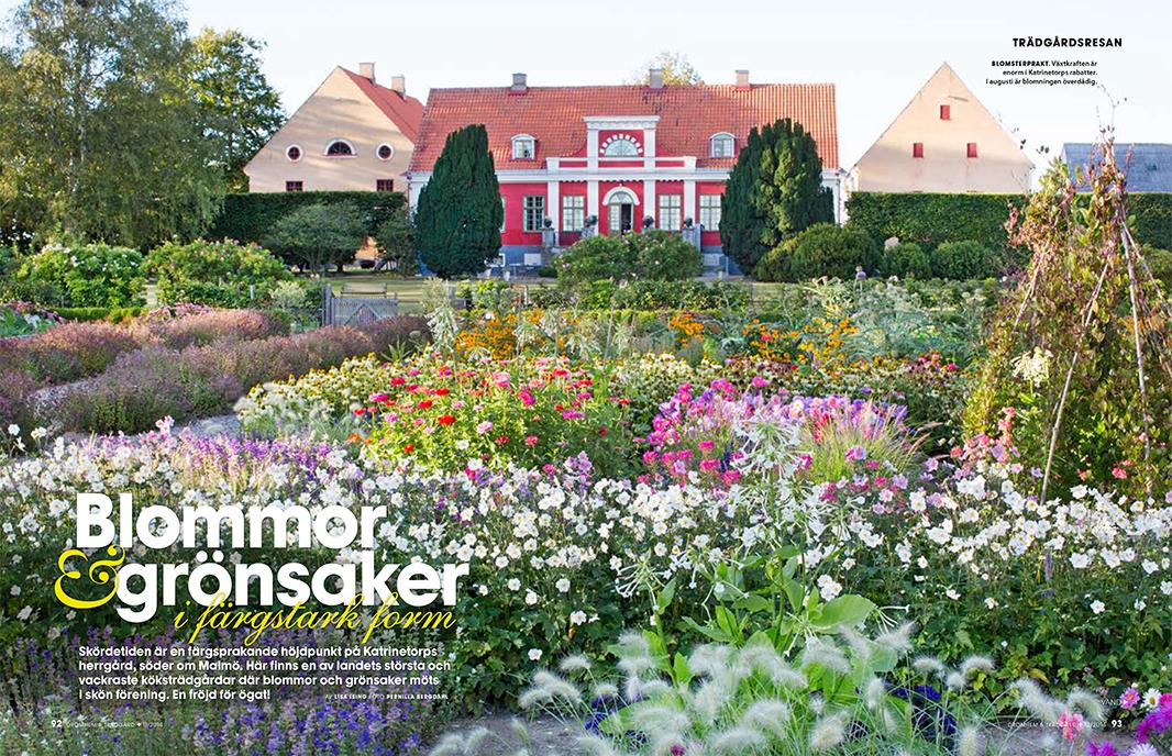 Drömhem och Trädgård - Katrinetorp Köksträdgård